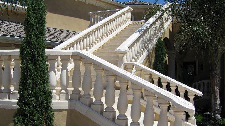 Cast Stone Balustrade Sacramento Magnificent Prices