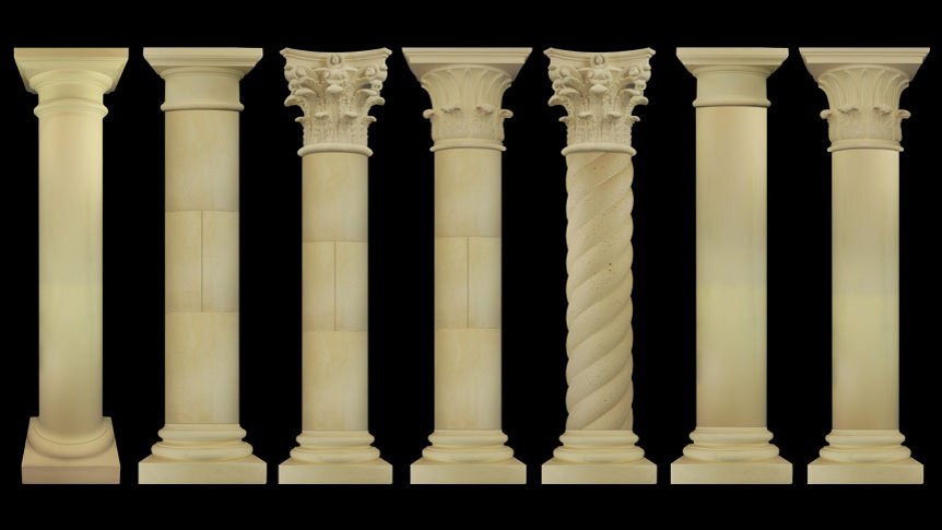 Cast Stone Columns Hillsborough