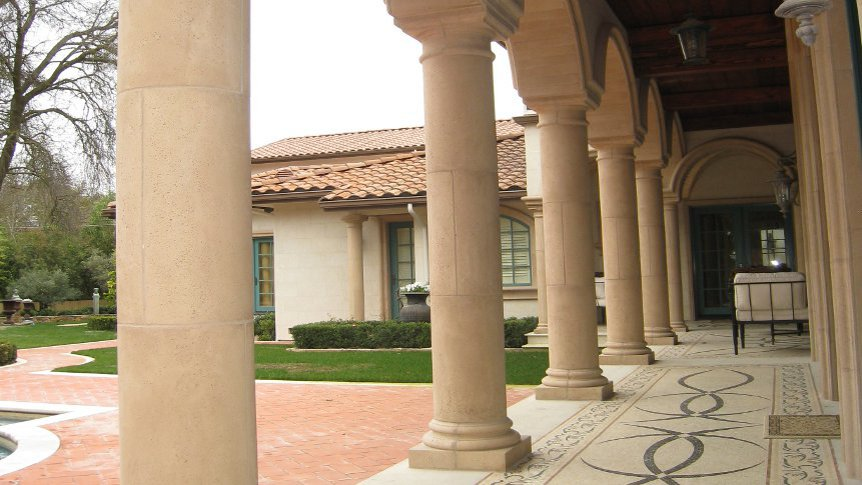 Cast Stone Columns Hillsborough 8