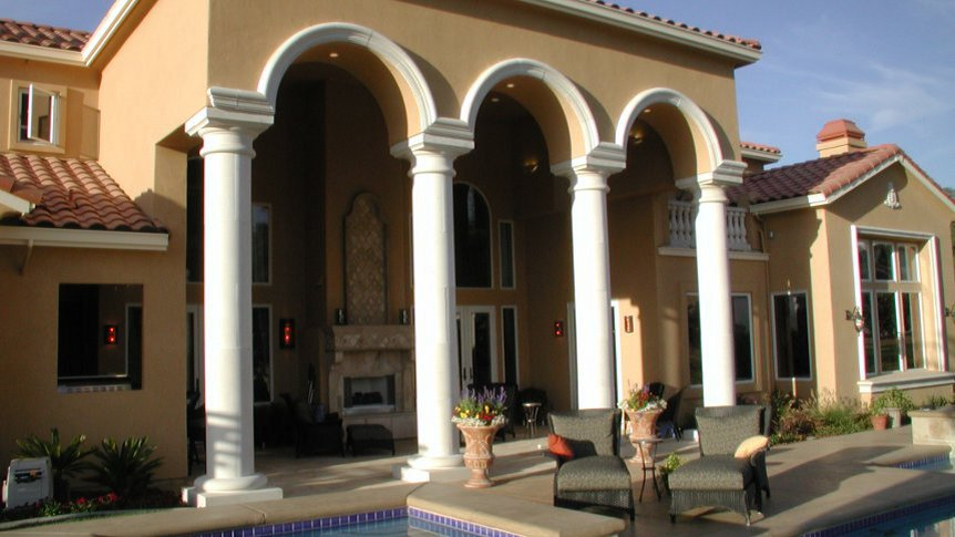 Cast stone columns vacaville exceptional prices for House columns prices