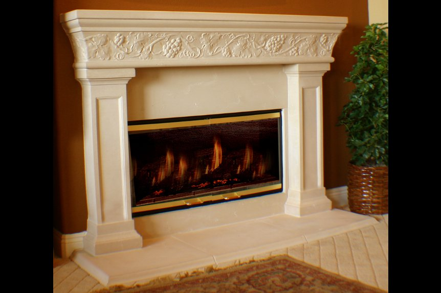 Cast Stone Fireplaces Napa Valley. Monumental Selection