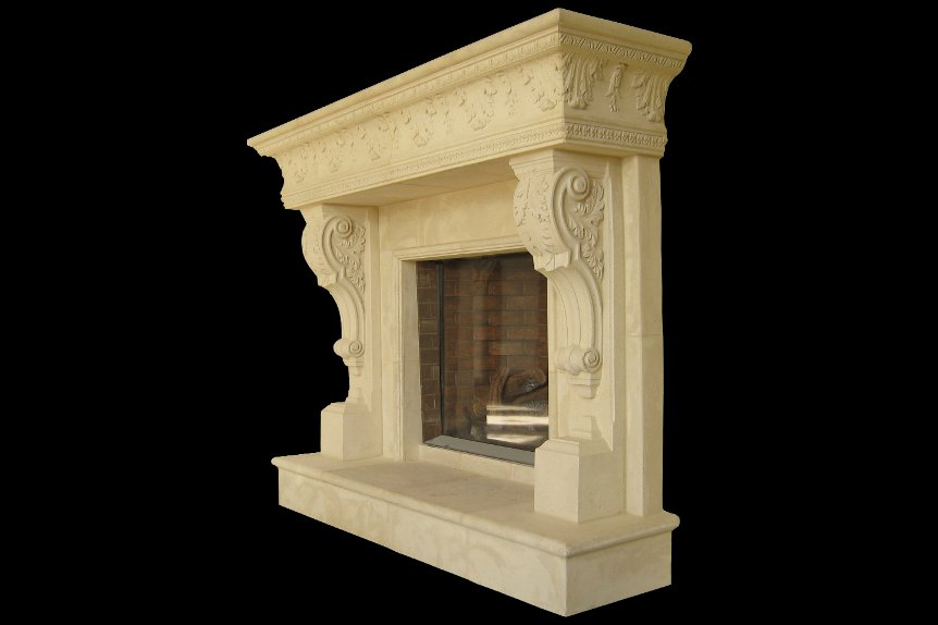 dining fireplaces product world a old overmantel normandy cast mantels custom fireplace lamad stone