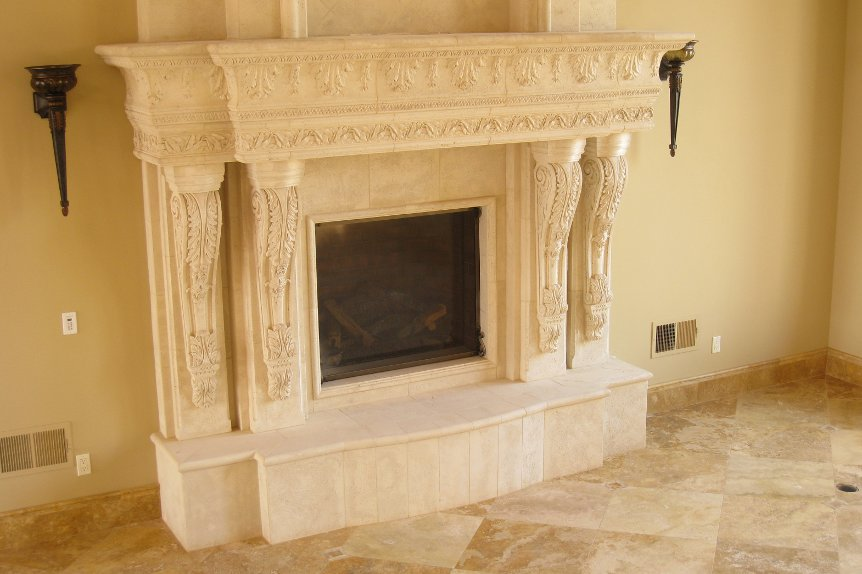 Cast Stone Mantels Beverly Hills 3