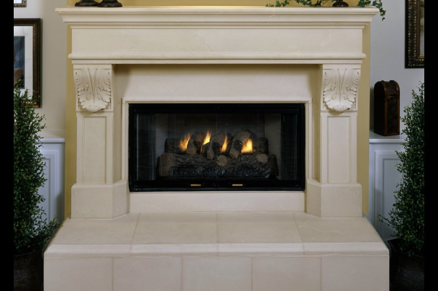 Cast Stone Mantels Beverly Hills 7