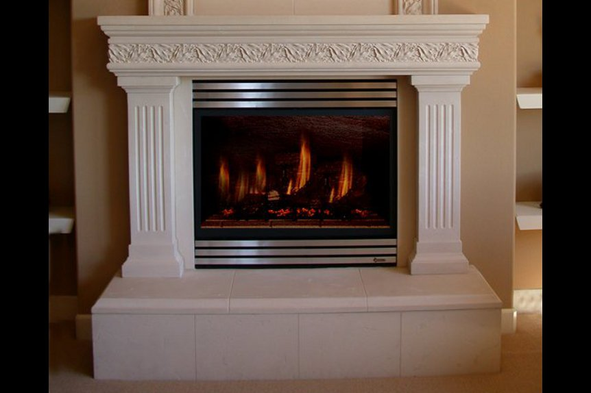 Cast Stone Mantels Beverly Hills 8