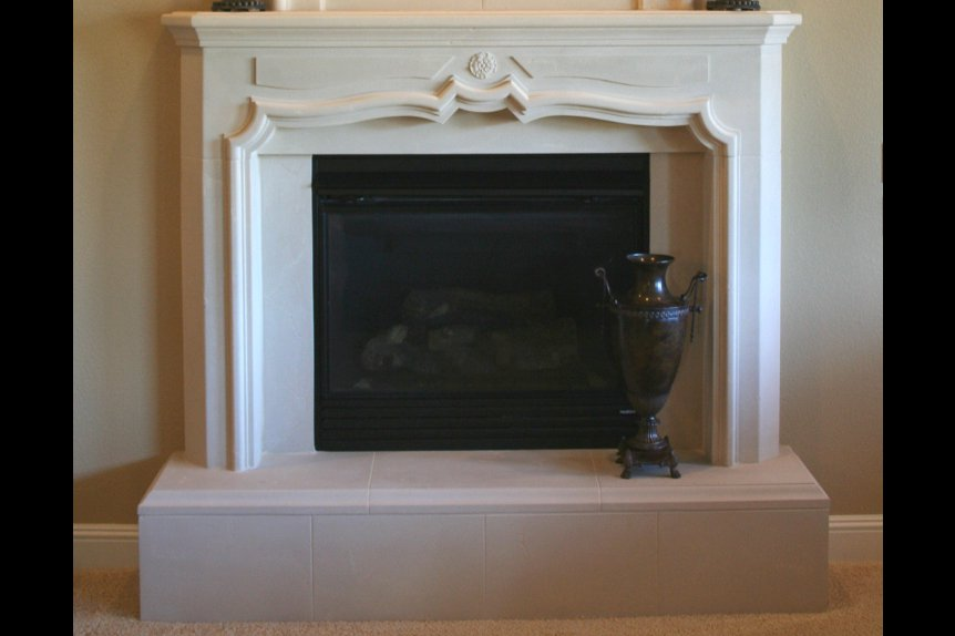 Cast Stone Mantels Beverly Hills 9