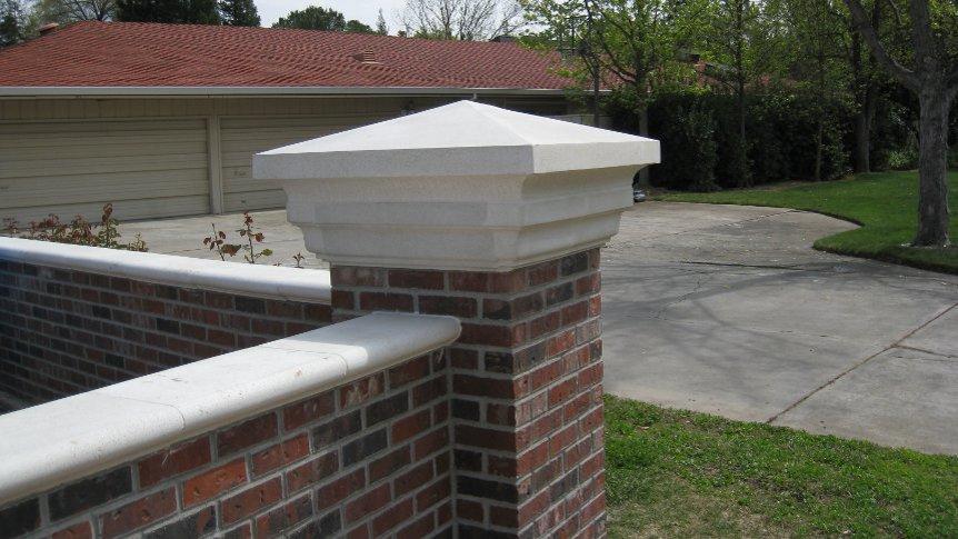 Cast Stone Pier Caps Sacramento Superb Prices