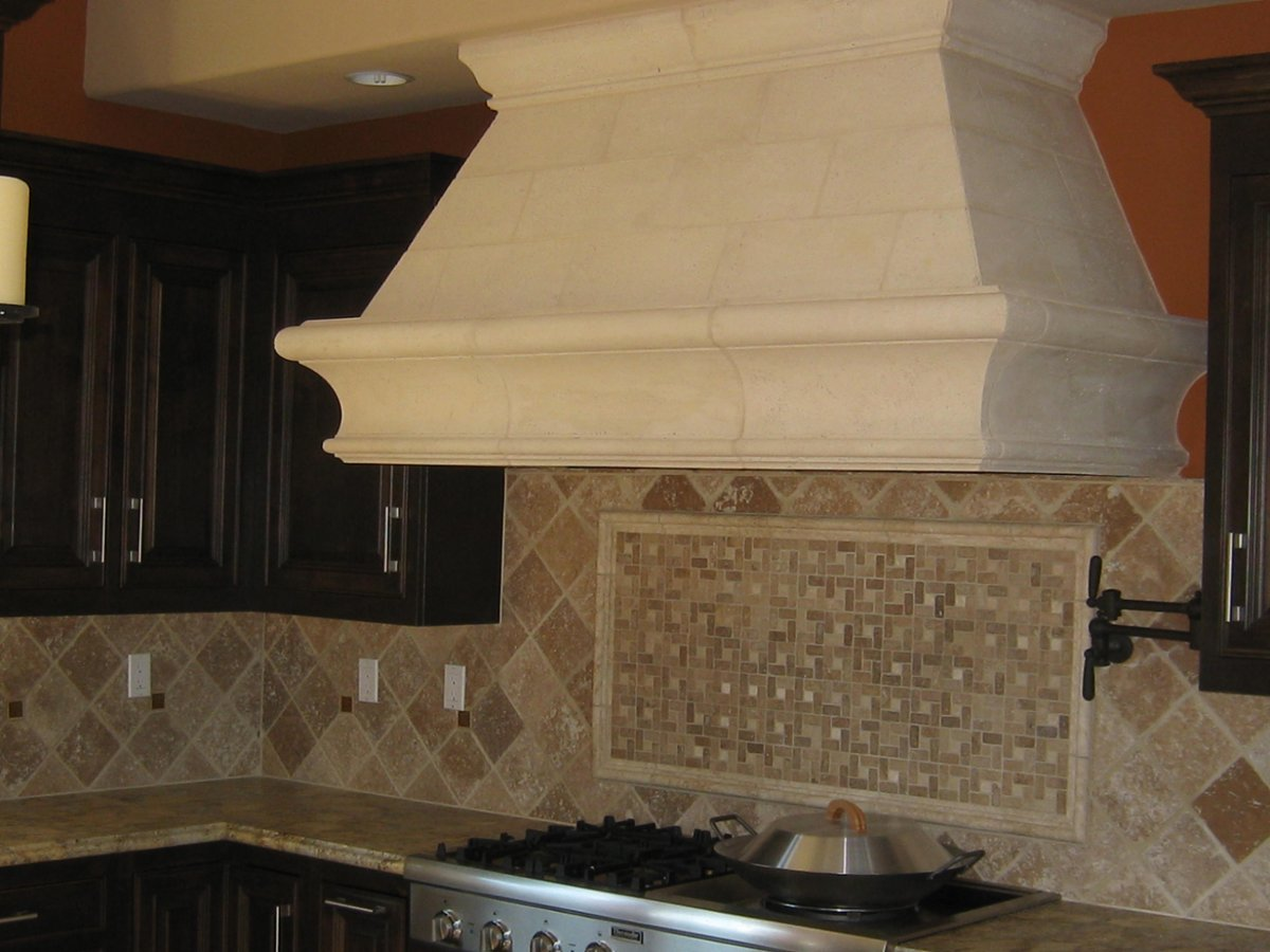 Cast Stone Kitchen Hoods Photo Album