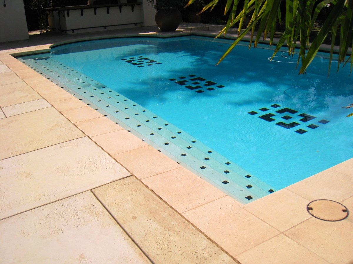 Cast Stone Pool Coping Photo Album - Bullnose tiles for pools