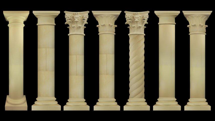 Ready Made Pillars : Precast columns hillsborough terrific prices super level